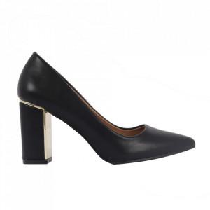 Pantofi cu toc cod OD0261 Black