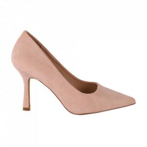 Pantofi cu toc cod OD0311 Pink