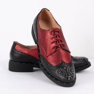 Pantofi din piele ecologică Cod 325