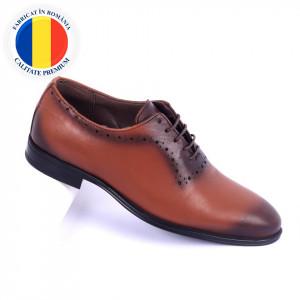 Pantofi din piele naturală Carmelo