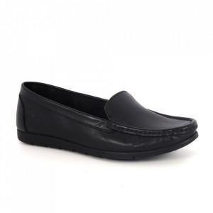 Pantofi din piele naturală Cod 01-N Black