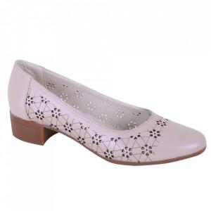 Pantofi din piele naturală cod 1141 FDT
