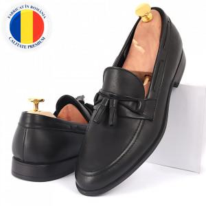 Pantofi din piele naturală cod 5457
