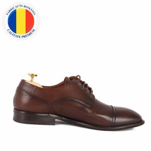 Pantofi din piele naturală Eddie Maro Închis