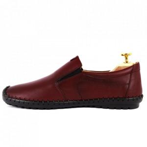 Pantofi din piele naturală Kia Bordo - Pantofi din piele naturală   Tălpicmoale ce conferă comoditatea de care ai nevoie! Finisaje îngrijite cu un design deosebit - Deppo.ro