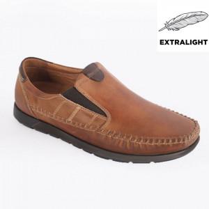 Pantofi din piele naturală pentru bărbați cod 620 MT