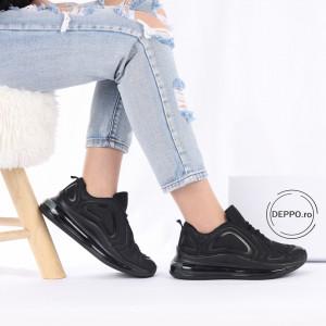 Pantofi Sport cod K201A Black