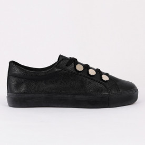 Pantofi Sport Leslie Cod 468 - Pantofi sport pentru dame foarte comodă și ușoară -piele ecologică  cu închidere prin șiret - Deppo.ro