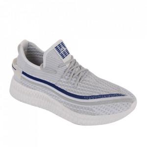 Pantofi sport pentru bărbați cod 1926-1 White