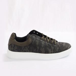 Pantofi Sport pentru bărbați cod 387 Camo Green