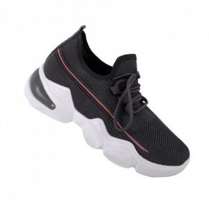Pantofi sport pentru dame cod 86001 Grey/Pink