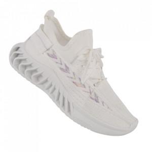 Pantofi sport pentru dame cod TRF-12 White