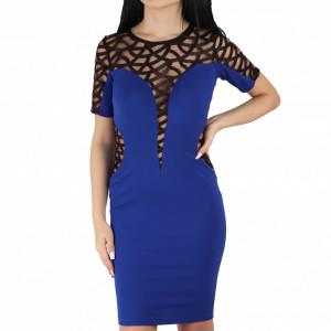 Rochie Helena Blue Short
