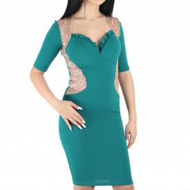 Rochie Karla Turquoise