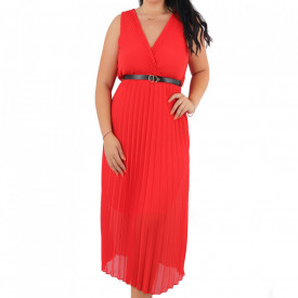 Rochie Lina Red