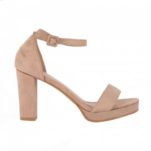 Sandale din piele ecologică cod M17 Beige
