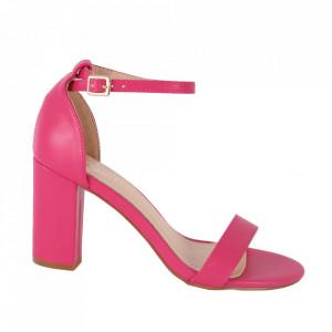 Sandale din piele ecologică cod OD350 Fuschia