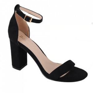 Sandale din piele ecologică cod OD351 Black