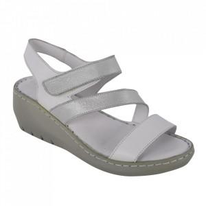 Sandale din piele naturală cod 06 Beyaz