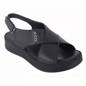 Sandale din piele naturală cod 102 Black