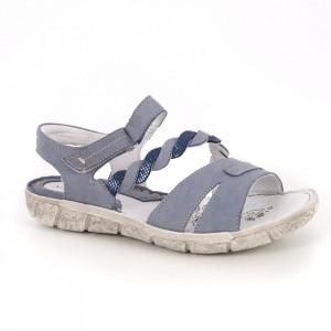 Sandale din piele naturală cod SD35B-107 Blue