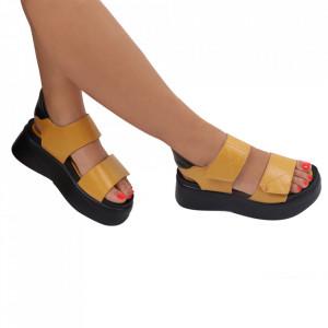 Sandale pentru dame cod 22180-1 Yellow
