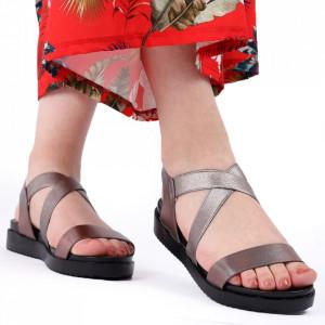 Sandale pentru dame cod 88021 Grey