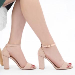Sandale pentru dame cod 8901C Bej