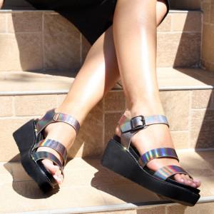 Sandale pentru dame cod 9330-9 Grey