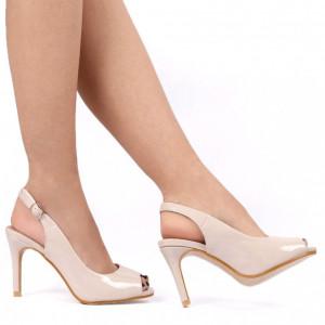 Sandale pentru dame cod AC-2 NUDE