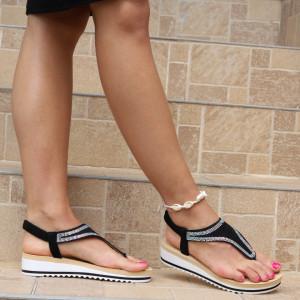 Sandale pentru dame cod B73 Black
