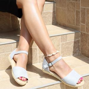 Sandale pentru dame cod B82 Silver