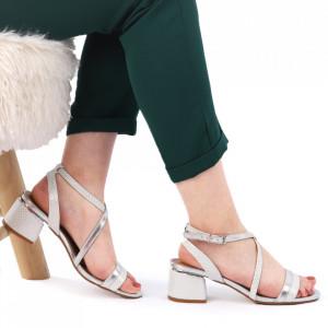 Sandale pentru dame cod CD02 Silver
