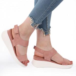 Sandale pentru dame cod L04 Nude