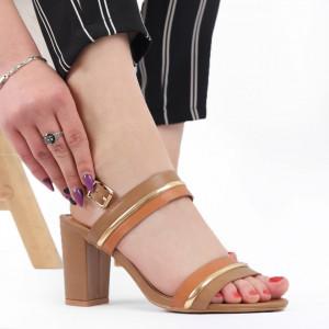 Sandale pentru dame cod LULC5 Brown