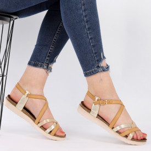 Sandale pentru dame cod LX50 Beige