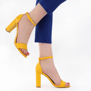 Sandale pentru dame cod OD0312 Yellow