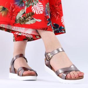 Sandale pentru dame cod XH10 Grey