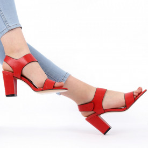 Sandale pentru dame cod Z04 Red