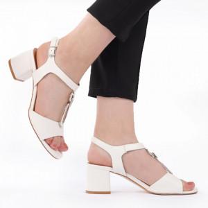 Sandale pentru dame cod Z08 White