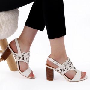 Sandale pentru dame cod Z44 White