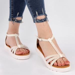 Sandale pentru dame cod ZH4030 White