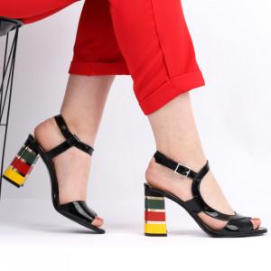 Sandale pentru dame din piele naturală cod S22 LN