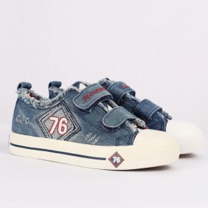 Sneakers pentru băieți cod HT878 Albastru Deschis - Pantofi sport pentru băieți, foarte comozi, ideali pentru ieșiri si practicarea exercitiilor în aer liber - Deppo.ro