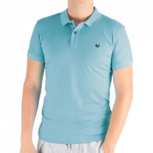 Tricou pentru bărbați Cod 4002 Blue