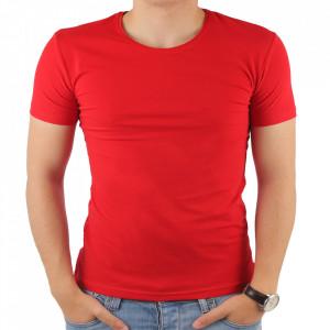 Tricou pentru bărbați cod 4101 Kirmizi