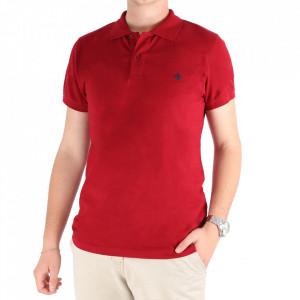 Tricou pentru bărbați Cod L1001 Red