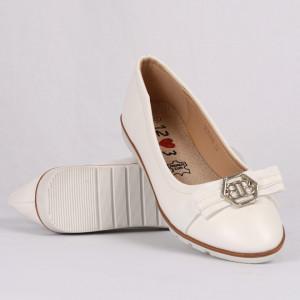 Pantofi pentru fete cod XLD216 Albi