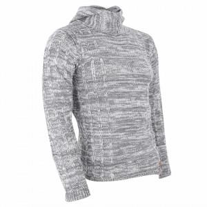 Bluză Aaron Grey - Bluza este cel mai versatil articol vestimentar din sezonul rece, o piesă cu reputaţie a stilului casual având compoziţia 50% lână 50% acrilic - Deppo.ro