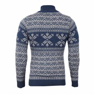 Bluză Aneris Albastră - Bluza este cel mai versatil articol vestimentar din sezonul rece, o piesă cu reputaţie a stilului casual având compoziţia 50% lână 50% acrilic - Deppo.ro